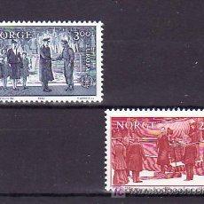 Sellos: NORUEGA 821/2 SIN CHARNELA, TEMA EUROPA 1982, HECHOS HISTORICOS, . Lote 11950272
