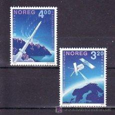 Sellos: NORUEGA 1019/20 SIN CHARNELA, TEMA EUROPA 1991, EUROPA Y EL ESPACIO, . Lote 11843861