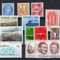 Sellos: NORUEGA AÑO 1974 YV 632/50*** COMPLETO. Lote 26389800