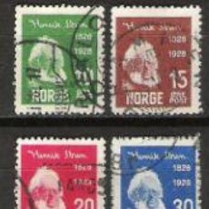 Sellos: 409-NORUEGA NORGE SERE COMPLETA 1928 Nº128/31.VALOR CLASICOS15,00€. Lote 30439604