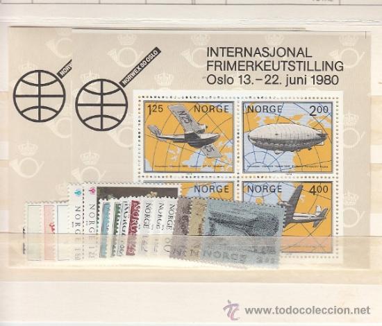 NORUEGA 746/64, HB3 SIN CHARNELA, AÑO 1979 VALOR CAT 33.50 EUROS + (Sellos - Extranjero - Europa - Noruega)