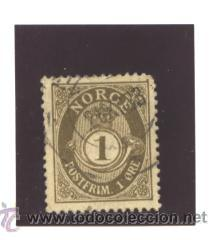 NORUEGA 1894 - YVERT NRO. 46 - USADO (Sellos - Extranjero - Europa - Noruega)