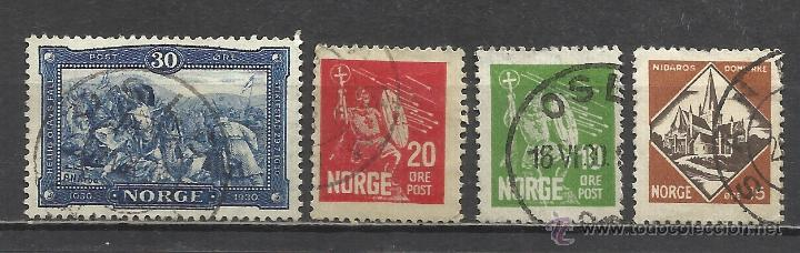 Sellos: 1839A-SERIE COMPLETA NORUEGA AÑO 1930 Nº147/50.VALOR 7,50€. 1839A--SERIES FULL YEAR 1930 NORWAY 147 - Foto 1 - 42685488