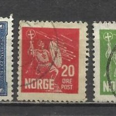 Sellos: 1839A-SERIE COMPLETA NORUEGA AÑO 1930 Nº147/50.VALOR 7,50€. 1839A--SERIES FULL YEAR 1930 NORWAY 147. Lote 42685488