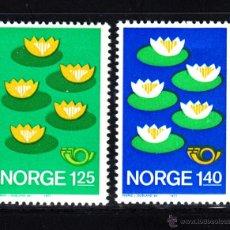 Sellos: NORUEGA 693/94** - AÑO 1977 - NORDEN 77 - PROTECCION DEL MEDIO AMBIENTE. Lote 50553291