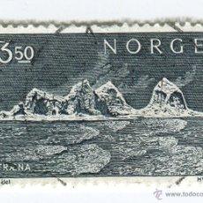Sellos: NORUEGA 1969. PAISAJES - TRAENA ISLANDS. Lote 50587131