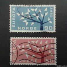 Sellos: SELLOS DE NORUEGA. YVERT 433/4 SERIE COMPLETA USADA. EUROPA CEPT. Lote 53262958