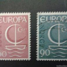 Sellos: SELLOS DE NORUEGA. YVERT 501/02 SERIE COMPLETA USADA. EUROPA CEPT. Lote 53262966