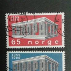 Sellos: SELLOS DE NORUEGA. YVERT 538/9. SERIE COMPLETA USADA. EUROPA CEPT. Lote 53262968