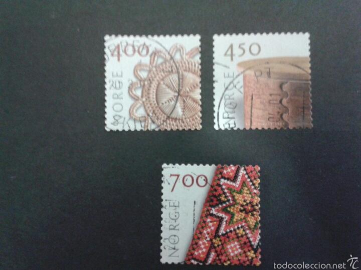 SELLOS DE NORUEGA. YVERT 1318/20. SERIE COMPLETA USADA. (Sellos - Extranjero - Europa - Noruega)