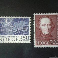 Sellos: SELLOS DE NORUEGA. YVERT 858/9. SERIE COMPLETA USADA. . Lote 53273250