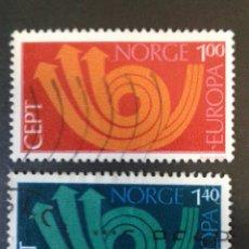 Sellos: SELLOS DE NORUEGA. YVERT 616/7. SERIE COMPLETA USADA. EUROPA CEPT. Lote 53274178