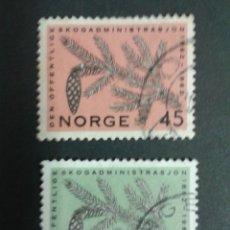 Sellos: SELLOS DE NORUEGA. YVERT 426/7. SERIE COMPLETA USADA. . Lote 53277576