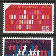 Sellos: NORUEGA - 1969 - MICHEL 596/597 // SCOTT 547/548** MNH. Lote 194189033