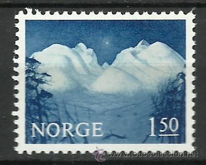 NORUEGA - 1965 - MICHEL 536 // SCOTT 484** MNH (Sellos - Extranjero - Europa - Noruega)