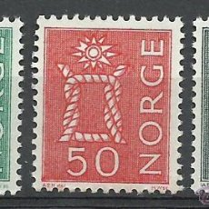 Sellos: NORUEGA - 1962 - MICHEL 482/484** MNH. Lote 53834823