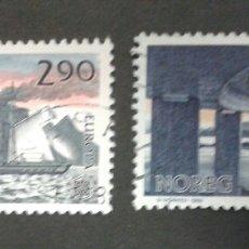 Sellos: SELLOS DE NORUEGA. YVERT 952/3. SERIE COMPLETA USADA. EUROPA CEPT. Lote 54851483