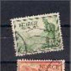 Sellos: CORREOS EN NORUEGA. SELLOS AÑO 1947. Lote 55307421