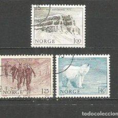 Sellos: NORUEGA YVERT NUM. 665/667 SERIE COMPLETA USADA. Lote 62086220