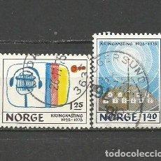 Sellos: NORUEGA YVERT NUM. 668/669 SERIE COMPLETA USADA. Lote 62086276