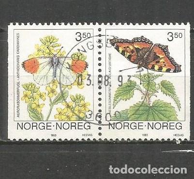 NORUEGA YVERT NUM. 1071A SERIE COMPLETA USADA (Sellos - Extranjero - Europa - Noruega)