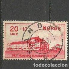 Sellos: NORUEGA YVERT NUM. 154 COMPLETA USADA. Lote 62213044