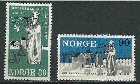 1965, 200 ANIVERSARIO DE LA SOCIEDAD MUNDIAL ARMONIA (Sellos - Extranjero - Europa - Noruega)