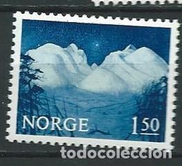 1965, MACIZO DE RONDANE (Sellos - Extranjero - Europa - Noruega)