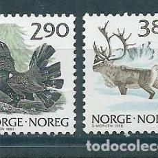 Sellos: NORUEGA Nº 942/3 (YVERT) AÑO 1988.. Lote 75634703