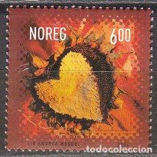 Sellos: NORUEGA 1501, DIA DE SAN VALENTIN, NUEVO ***. Lote 77081609