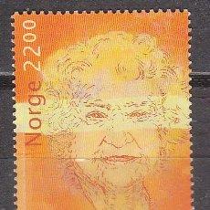 Sellos: NORUEGA 1530, CENTENARIO DE AASA GRUDA SKARD, PEDAGOGA, NUEVO ***. Lote 77239565