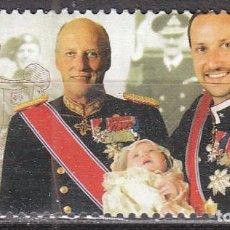 Sellos: NORUEGA 1560, CENTENARIO DE LA FAMILIA REAL, NUEVO ***. Lote 77241165