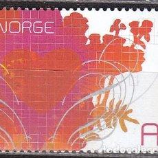Sellos: NORUEGA 1563, DIA DE SAN VALENTIN AÑO 2006, NUEVO ***. Lote 77241345