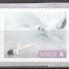 Sellos: NORUEGA 1569, SELOS PARA OCASIONES ESPECIALES: NACIMIENTO DE UN NIÑO, NUEVO ***. Lote 77241921