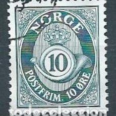 Sellos: NORUEGA,1962,CUERNO POSTAL,YVERT 436,USADO. Lote 115967792