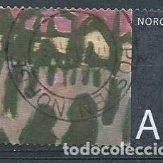 Sellos: NORUEGA,2008,ARTE NORUEGO,YVERT 1608,USADO. Lote 103359540