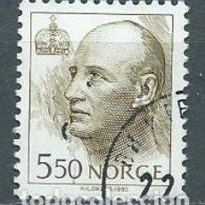 Sellos: NORUEGA,1993,HARALD V,YVERT 1075,USADO. Lote 103910583