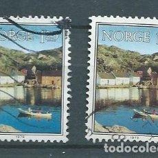 Sellos: NORUEGA,1979,MANDAL SKERJNOY SUND,USADO,YVERT 752,USADO. Lote 104252147