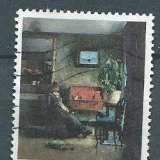 Sellos: NORUEGA,1981,PINTURA,USADO,YVERT 803,USADO. Lote 104252226