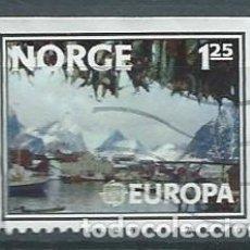 Sellos: NORUEGA,1977,EUROPA,USADO,YVERT 698,USADO. Lote 104252254