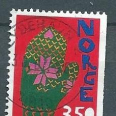 Sellos: NORUEGA,1995,NAVIDAD,SIN DENTAR A LA DERECHA,USADO,YVERT 1158,USADO. Lote 104252382