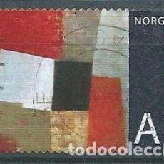 Sellos: NORUEGA,2008,ARTE NORUEGO,USADO,MICHEL 1667,USADO. Lote 104252398