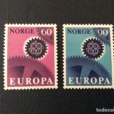 Sellos: NORUEGA Nº YVERT 509/0*** AÑO 1967. EUROPA. Lote 121188179