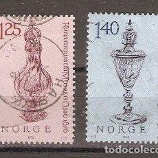 Sellos: NORUEGA. 1976. YT 678,679. Lote 133394662