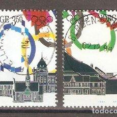 Sellos: NORUEGA. 1994. JUEGOS OLÍMPICOS 1994. Lote 133394922