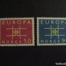 Sellos: NORUEGA Nº YVERT 460/1*** AÑO 1963. EUROPA. Lote 133500214