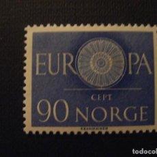Sellos: NORUEGA Nº YVERT 407*** AÑO 1960. EUROPA. Lote 133500270