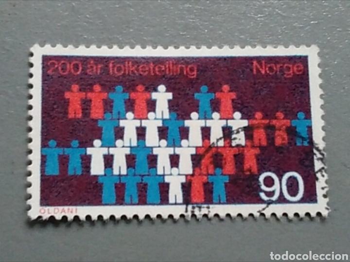 SELLO NORUEGA 557 NORGE (Sellos - Extranjero - Europa - Noruega)