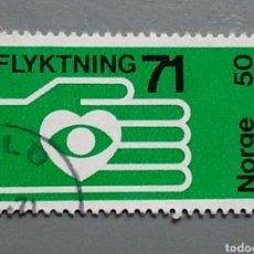 Sellos: SELLO NORUEGA 579 NORGE AÑO 1971 USADO. Lote 139603226