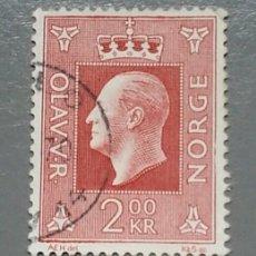 Sellos: SELLO NORUEGA 547 NORGE REY OLAV AÑO 1969 USADO. Lote 139627773
